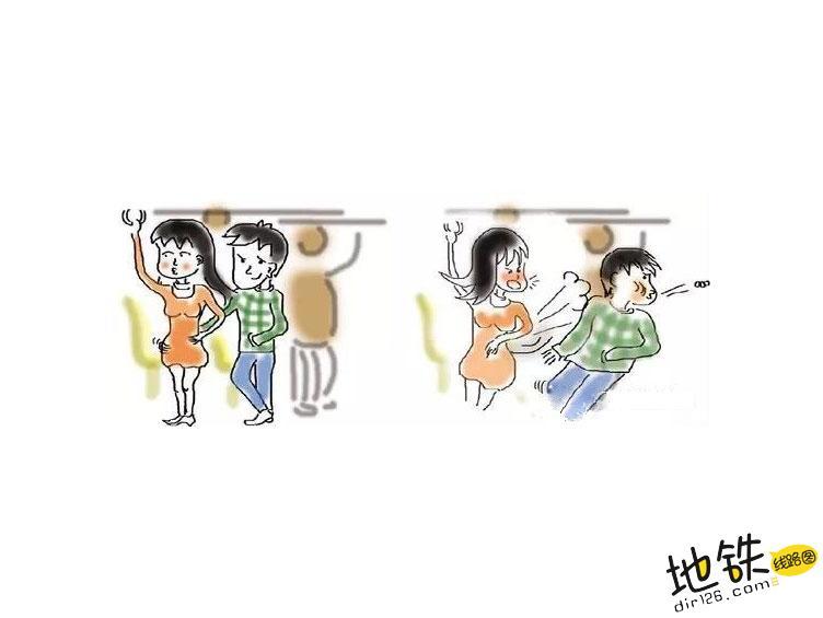 滴滴事件后,搭乘轨道交通出行的女乘客又该如何防色狼? 女乘客 安全 性骚扰 轨道交通 地铁 轨道动态  第1张