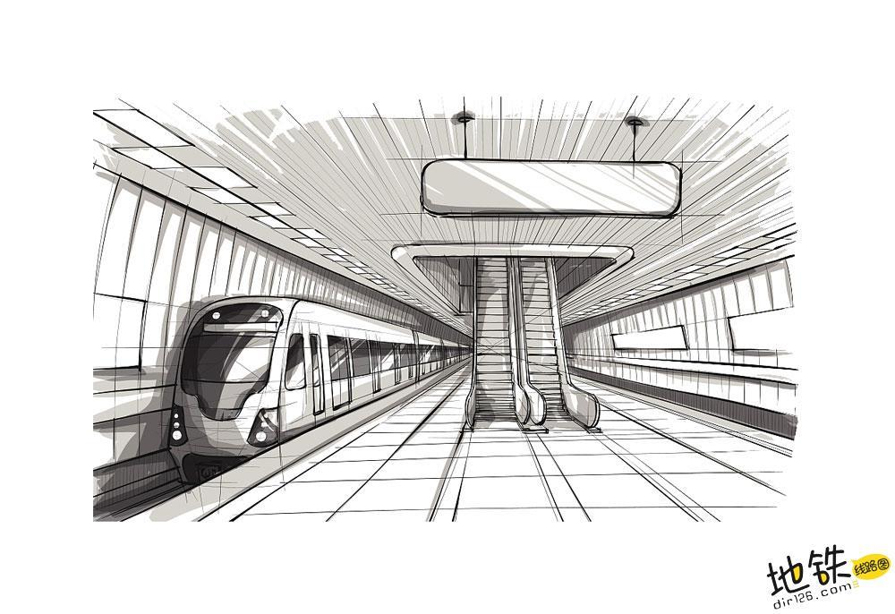 城市地铁轨道交通系统规划与设计的主要内容 设计 规划 线路 运营 列车 地铁 轨道知识  第2张
