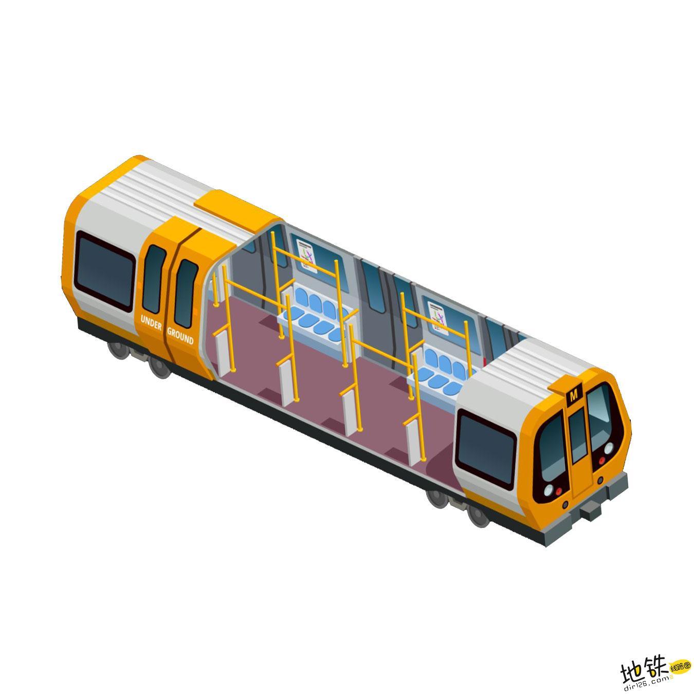 浅析轨道交通地铁列车的基本构造 构造 车辆 列车 轨道交通 地铁 轨道知识  第1张
