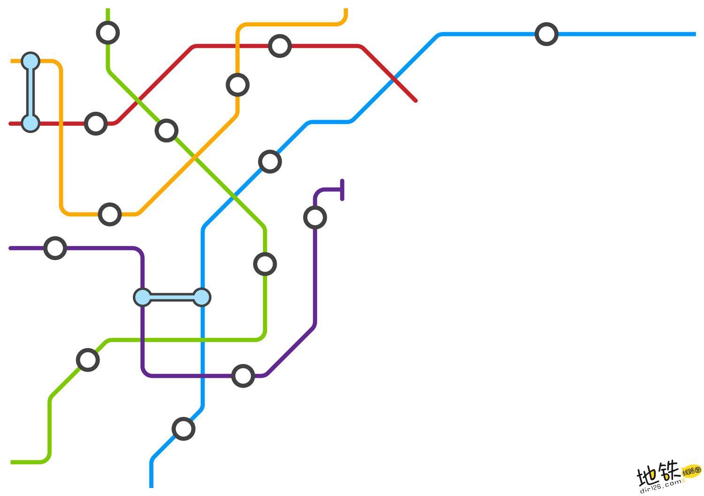 轨道交通地铁线网规划的基本方法 系统分析法 解析法 规划 地铁 轨道交通 轨道知识  第1张