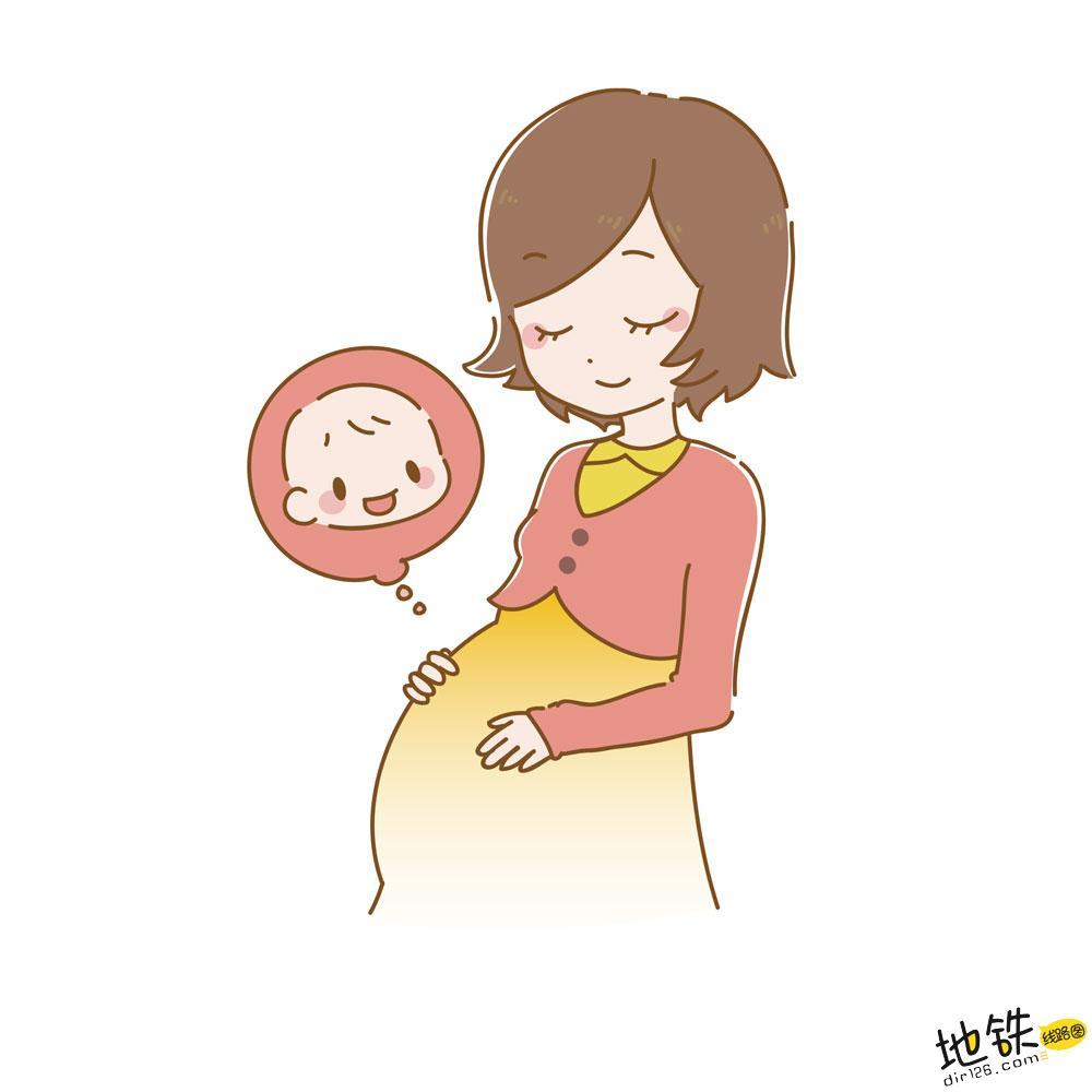 孕妇乘坐地铁需要注意什么呢? 注意 让座 站务 地铁 孕妇 轨道动态  第1张