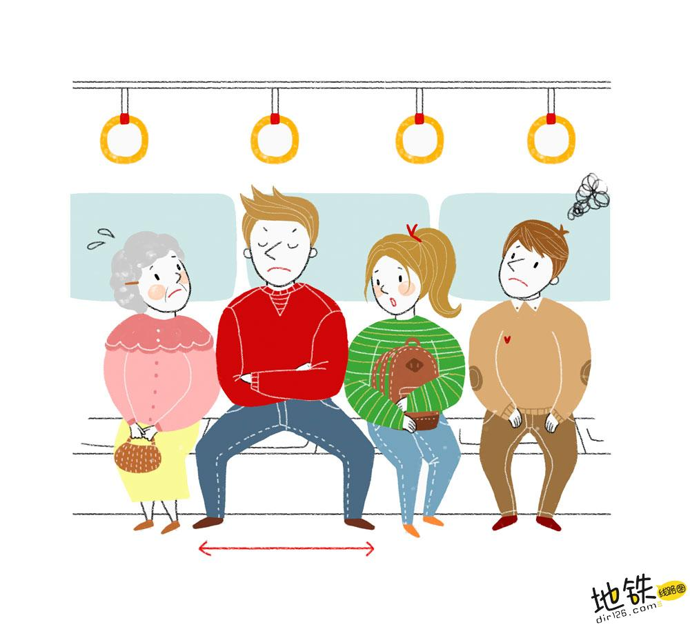 """地铁小伙霸气叫""""时髦""""女子让座,女子回答引网友热议! 教养 道德 文明 占座 地铁 轨道动态  第1张"""