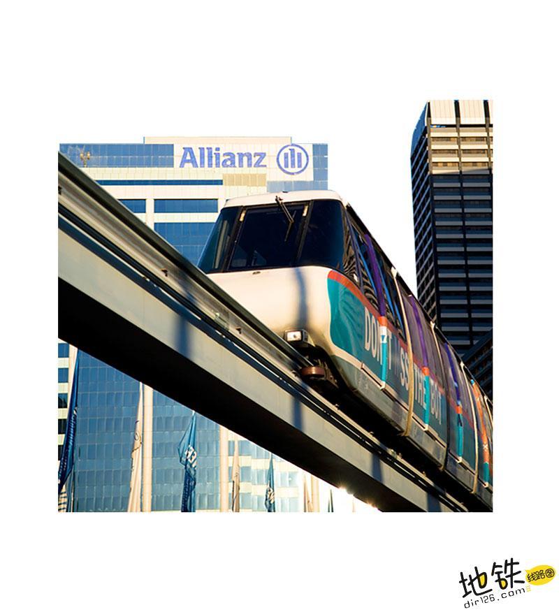 """""""地铁""""一定是地下运行的吗? 高架 线路 马路 subway 地铁 轨道知识  第2张"""
