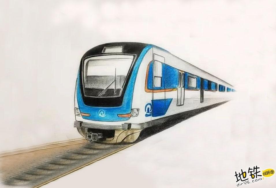 地铁列车自主运行地铁来了,青岛6号线! 中国智造 中国制造 TACS 自主驾驶 青岛 地铁 轨道动态  第1张