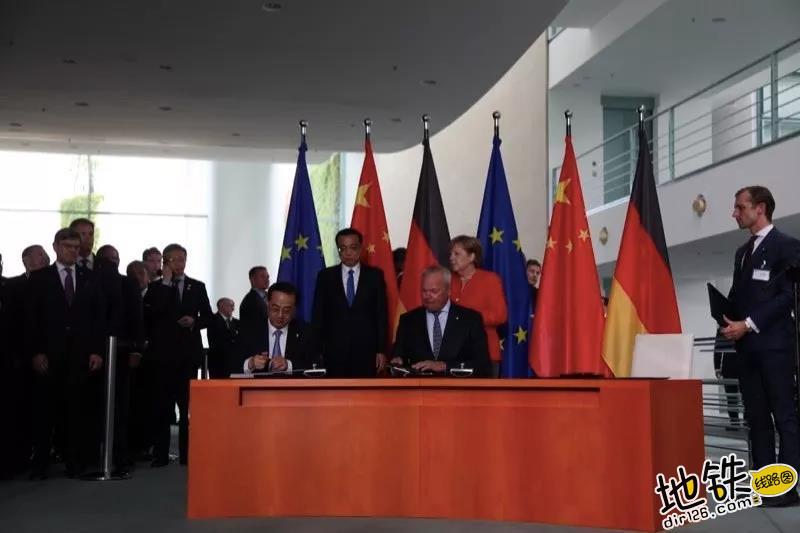 """总理在柏林鼓励中车: """"搞好创新,多走出去加强国际合作"""" 合作 国际 轨道 中车 总理 轨道动态  第2张"""