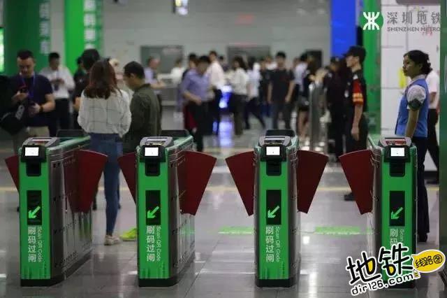 深圳市地铁扫码过闸单日客流创下新高 达到103万人次 交通 扫码 闸机 乘车码 深圳地铁 轨道动态  第1张