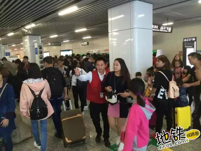 国庆期间各地 地铁客运量参考 乘客 客流 客运量 地铁 国庆 地铁客流量排行榜  第6张