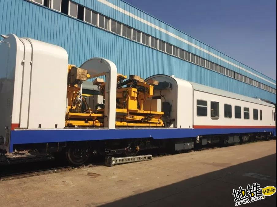 我国自主的轮轨式高速铁路隧道检查车正式下线 检测 隧道 高速铁路 轮轨 中国铁路 轨道动态  第1张