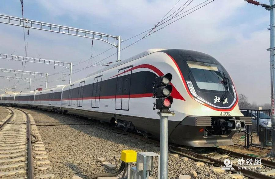 北京地铁机场线无人驾驶白鲸号来了!时速160公里 动车组 自动驾驶 列车 白鲸号 北京地铁 轨道动态  第1张