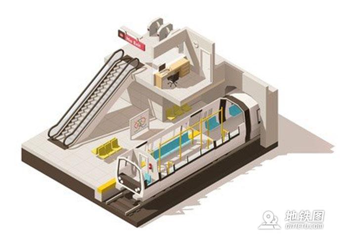 城市轨道交通地铁站空间的六个设计要素 广告 艺术 装修 建筑 设计 地铁站 轨道知识  第1张