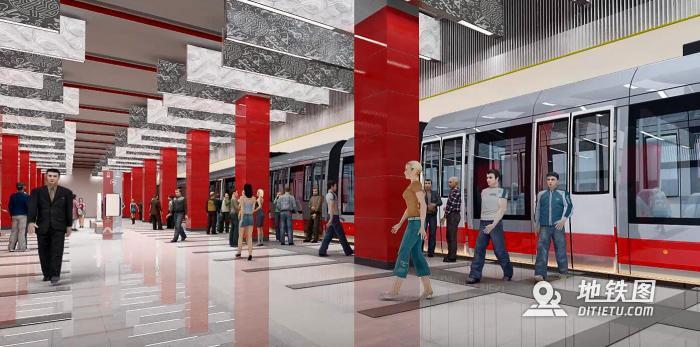 中企走出国门 助力中国元素注入莫斯科地铁 中国地铁 俄罗斯 莫斯科地铁 轨道动态  第1张