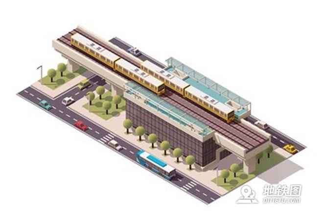 浅析城轨地铁上下行怎么区分 方向 地铁 骨干 上下行 轨道交通 轨道知识  第1张
