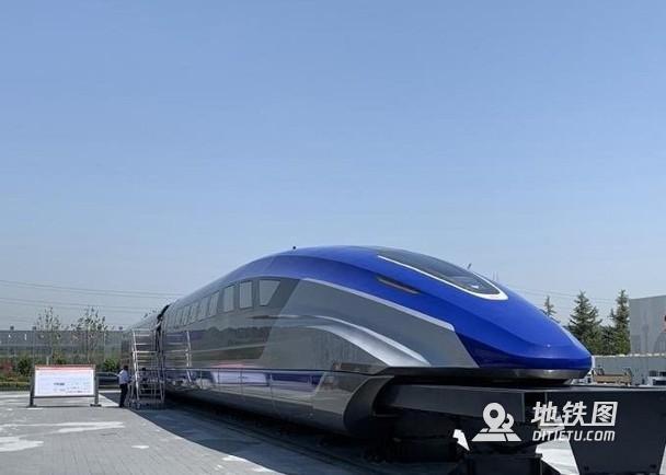 中车时速600公里磁浮样车下线 2022年将完成高速考核 高速磁浮 时速600 样车 磁悬浮 轨道动态  第1张